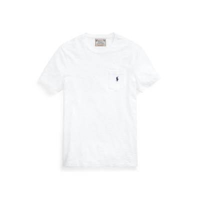 POLO RALPH LAUREN T シャツ ホワイト L コットン 100% T シャツ
