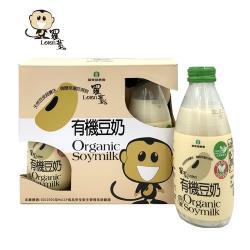 【羅東鎮農會】羅董有機豆奶禮盒組 (245毫升 x 6瓶)