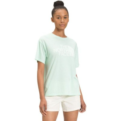 ザ ノースフェイス THE NORTH FACE レディース Tシャツ トップス Half Dome Tri-Blend Short Sleeve Tee XQ/MISTY JADE