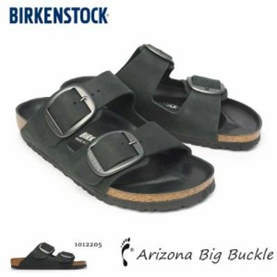 ビルケンシュトック メンズ サンダル アリゾナ ビッグベルト ブラック ナロー幅 Birkenstock Arizona Big Buckle