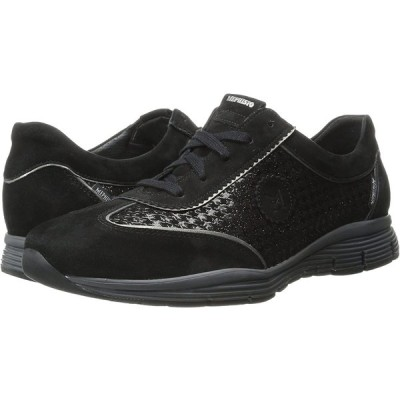 Mephisto Women's Yael Walking Shoe, Black Velcalf Premium/Paris/Titani