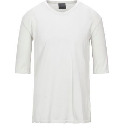 ラネウス LANEUS T シャツ ライトグレー S コットン 100% T シャツ