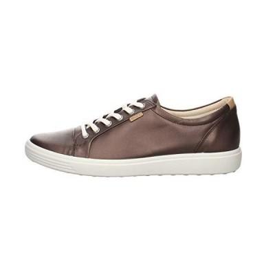 ECCO Women's Soft 7 Sneaker, Shale Metallic, 10-10.5【並行輸入品】