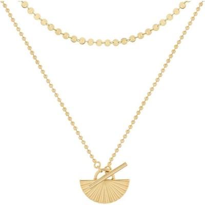 ブルックアンドヨーク BROOK AND YORK レディース ネックレス ジュエリー・アクセサリー Celeste Layered Pendant Necklace Gold