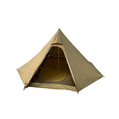 ACYY Camping Tent Ultralight Camping Pyramid Teepee Tent Including Inside and Outside Tent Outdoor Awnings Shelter Backpacking Tent (Color :