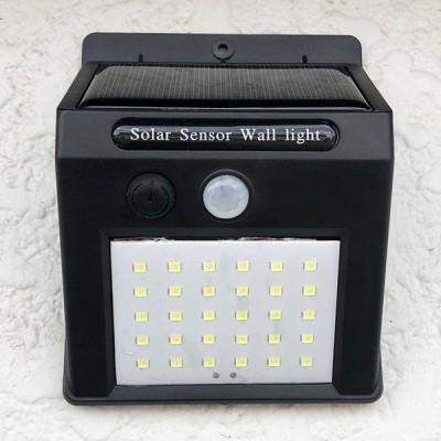 LED センサーライト ソーラーライト 30LED LEDライト 屋外 人感センサーライト 高輝度 省エネ 120度広角照明 防水 駐車場 防犯ライト ###ライトGYD-30SMD###