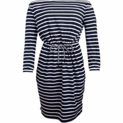 バブアー Barbour レディース ワンピース ワンピース・ドレス B.Li Waveson Dress Ld99 Navy/White