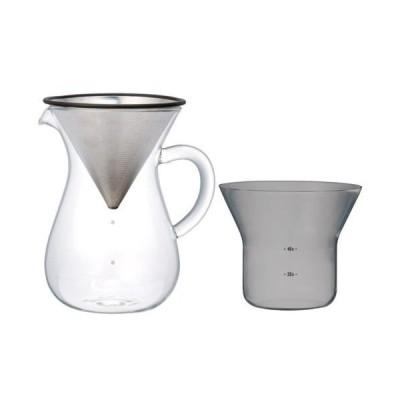 KINTO(キントー) スローコーヒースタイル コーヒーカラフェセット 600ml(耐熱ガラス+フィルター+ホルダーセット) SCS-04-CC 27621