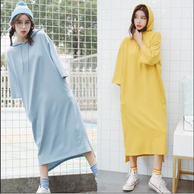 【春夏新作】ファッション/人気ワンピース♪ブラック/ブルー/イエロー3色展開◆