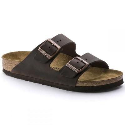 ビルケンシュトック Birkenstock メンズ サンダル シューズ・靴 Arizona Soft Footbed Sandals Habana Oiled Leather