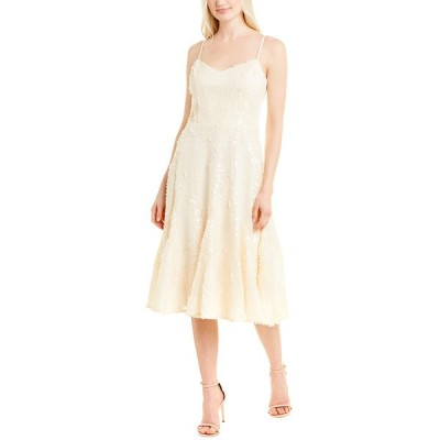 ドレスザポプレーション ワンピース トップス レディース Dress the Population Flora A-Line Dress cream
