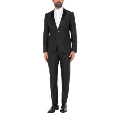 トネッロ TONELLO スーツ ブラック 50 バージンウール 100% スーツ