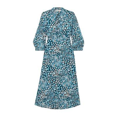 CEFINN 7分丈ワンピース・ドレス アジュールブルー 6 シルク 100% 7分丈ワンピース・ドレス