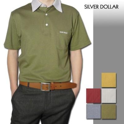 メンズ 布帛ストライプ半袖シャツ 日本製 (父の日 プレゼント ギフト ゴルフ ゴルフウェア シニア 紳士)