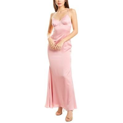 フェームアンドパートナー ワンピース トップス レディース Fame & Partners The Trine Maxi Dress dusty rose