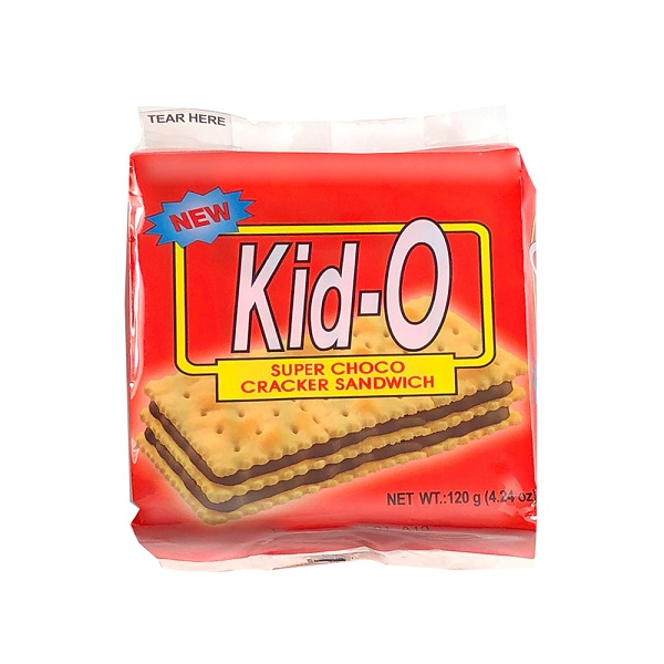 Kid-O日清三明治餅乾(巧克力口味)136g