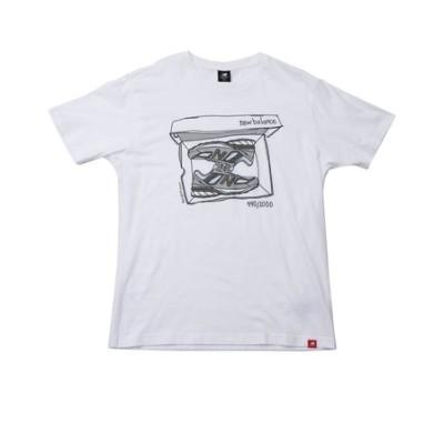 MT11542WT NB Essentials シューボックスTシャツ WT 615790-0001