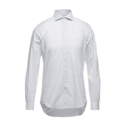 ハマキホ HAMAKI-HO シャツ ホワイト S コットン 97% / ポリウレタン 3% シャツ