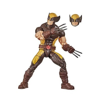 Hasbro Marvel Legends Series X-Men 6-inch Collectible Wolverine Action Figure Toy, Premium Detail and Accessory, Ages 4 and Up【並行輸