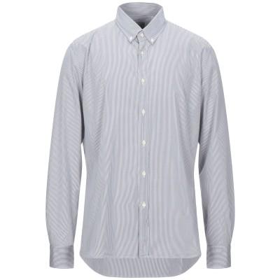 XACUS シャツ グレー 43 コットン 100% シャツ