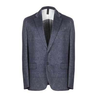 プリングル オブ スコットランド PRINGLE OF SCOTLAND テーラードジャケット ブルー 50 50% コットン 50% 麻 テーラー