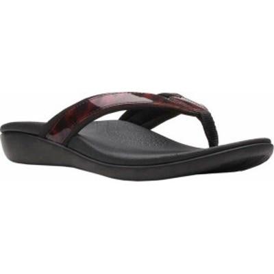 クラークス レディース サンダル シューズ Women's Clarks Brio Sol Thong Sandal Tortoise Shell Synthetic