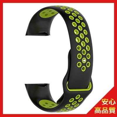 Fitbit Charge4用 バンド フィットビット4用 交換バンド 腕時計バンド 高級シリコーン製 Lサイズ Sooyeeh 柔らかい 超