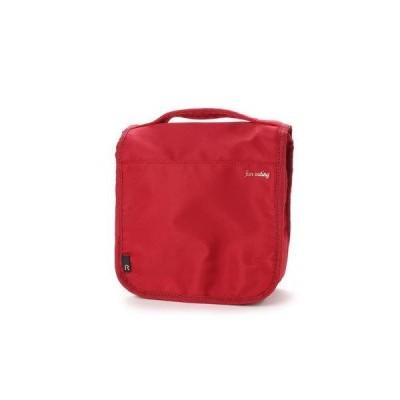 ルートート ROOTOTEはっ水加工 フック可能 トラベルポーチ LT ポーチ leggero(レジェロ) A 3491(RED)