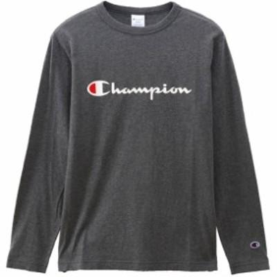 LONG SLEEVE T-SHIRT Champion チャンピオン カジュアルナガソデTシャツ (c3q401-089)