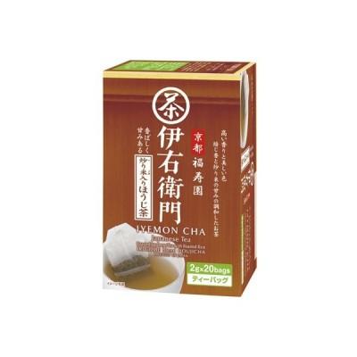 宇治の露製茶株式会社 伊右衛門炒り米入りほうじ茶ティーバッグ20P×12個 【送料無料】