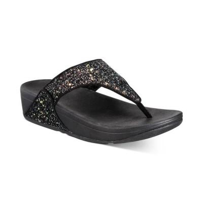 フィットフロップ レディース サンダル シューズ Women's Lulu Glitter Toe-Thongs Sandal