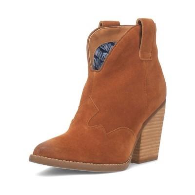 ディンゴ ブーツ&レインブーツ シューズ レディース Women's Flannie Leather Bootie Whiskey