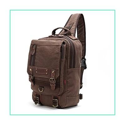 Canvas Cross Body Bag Messenger Shoulder Bag Sling Backpack fits 13-inch Laptop並行輸入品