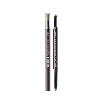 エコソウルペンシル&パウダーデュアルブロー [Pencil] 0.3g