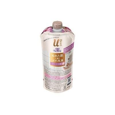 ビオレu ザ ボディ 〔 The Body 〕 ぬれた肌に使う ボディ 乳液 エアリーブーケの香り つりさげパック 300ml ボディクリー