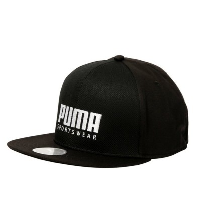 プーマ メンズ キャップ SF フラットブリム 023126 01 帽子 : ブラック PUMA