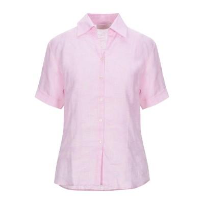 EMISPHERE シャツ ピンク S リネン 100% シャツ