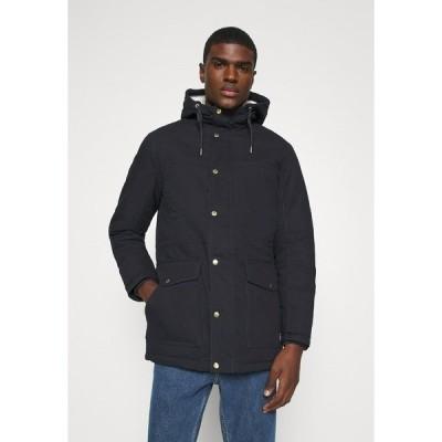 ジャック アンド ジョーンズ コート メンズ アウター JORWALLY JACKET - Winter coat - dark navy