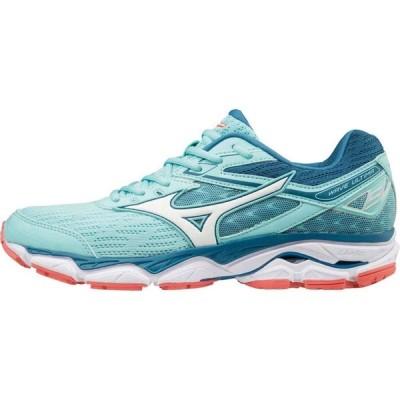 ミズノ Mizuno レディース ランニング・ウォーキング シューズ・靴 Wave Ultima 9 Running Shoes Aqua/White