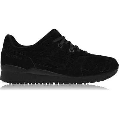 アシックス Asics メンズ スニーカー シューズ・靴 GEL Lyte III OG Trainers Black Mono