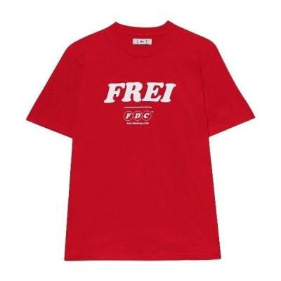 tシャツ Tシャツ 『FREI』BIG LOGO T-SHIRT / ビッグ ロゴ デザイン Tシャツ