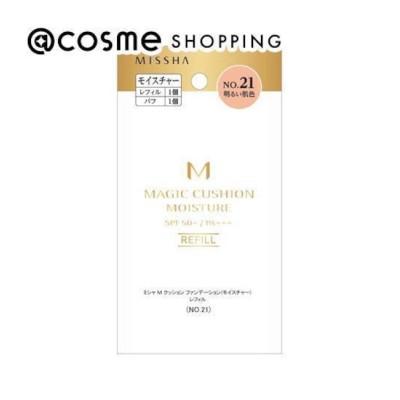 【アットコスメショッピング/@cosme SHOPPING】 MISSHA(ミシャ) M クッション ファンデーション(モイスチャー) No.21 明るい肌色 レフィル