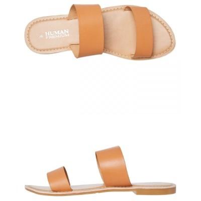 ヒューマン フットウェア Human footwear レディース サンダル・ミュール シューズ・靴 dakota slide Tan