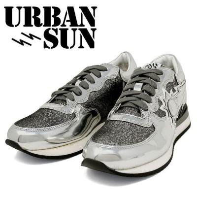 【URBAN SUN】アーバンサン DORIS 115 ドリス エナメル ローカットスニーカー シューズ レディース