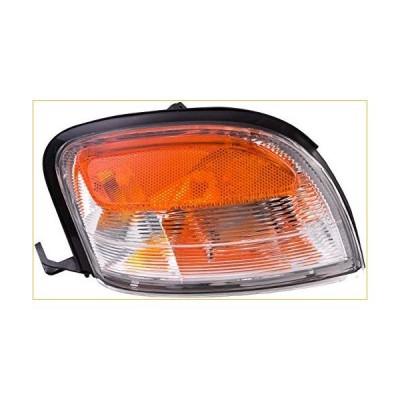 Dorman 1630824 Front Driver Side Turn Signal / Parking Light Assembly for Select Nissan Models 並行輸入品