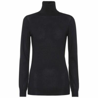 ロロピアーナ Loro Piana レディース ニット・セーター トップス Cashmere turtleneck sweater Black