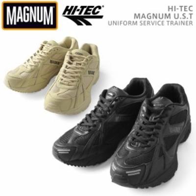 【T】HI-TEC ハイテック MAGNUM マグナム U.S.T タクティカルシューズ / メンズ レディース カジュアル タクティカル ハイテクスニーカー