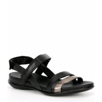 エコー レディース サンダル シューズ Flash Leather Banded Sandals Black