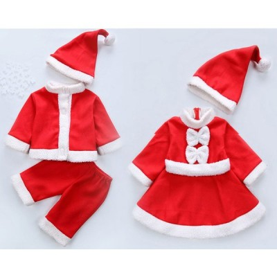 サンタ 衣装 セットアップ クリスマス サンタクロース コスチューム 子供 女の子 男の子 キッズ