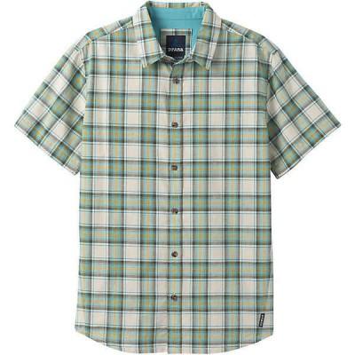 プラーナ シャツ メンズ トップス Prana Men's Graden SS Shirt Stone